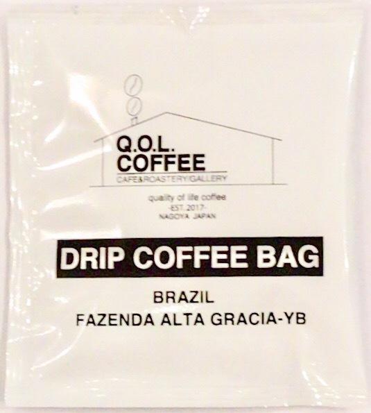 ドリップ バッグ コーヒー 1P【Brazil】