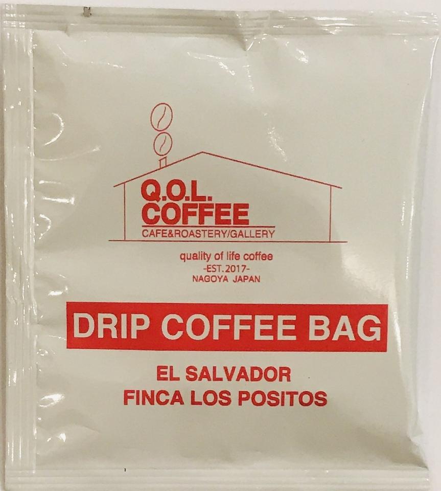 ドリップ バッグ コーヒー 1P【El Salvadol】