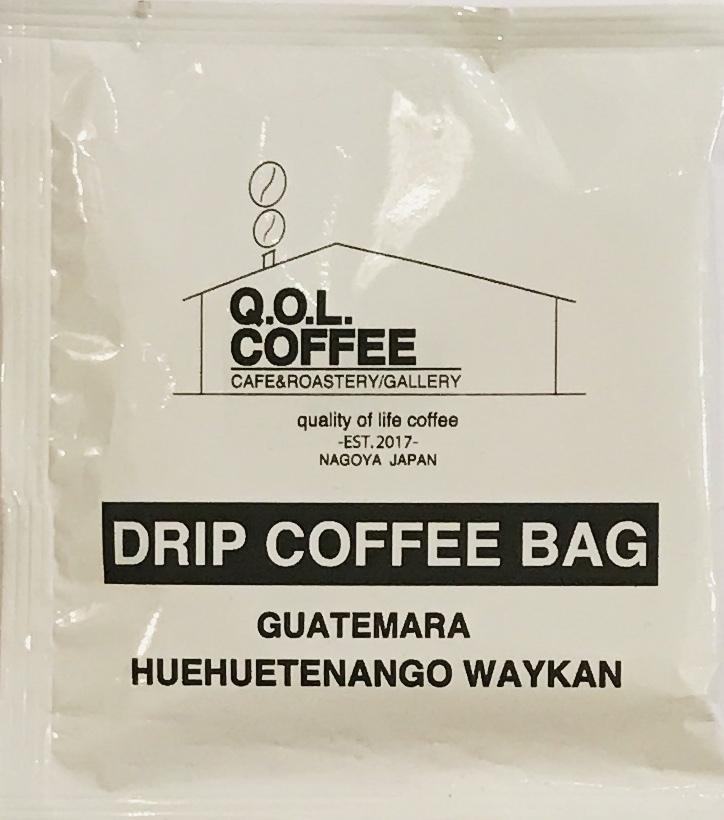 ドリップ バッグ コーヒー 1P【Guatemala】