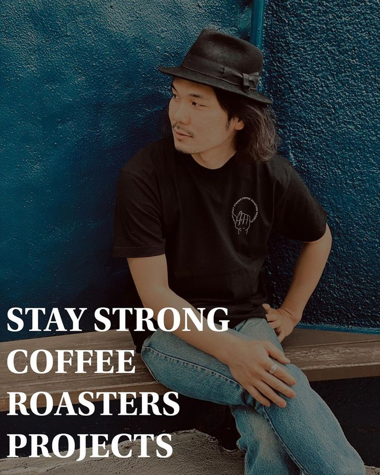 STAY STRONG COFFEE Tシャツ